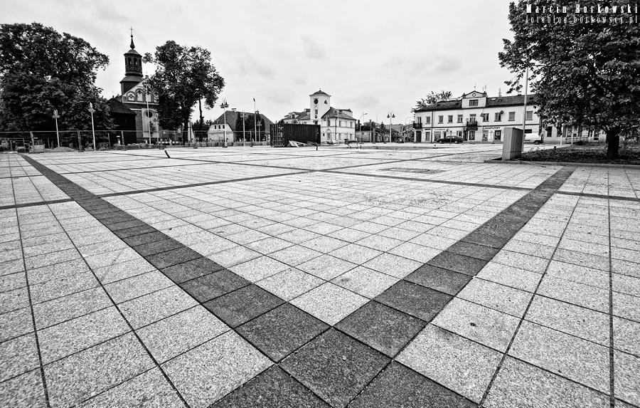 Plac Piłsudskiego w Piasecznie