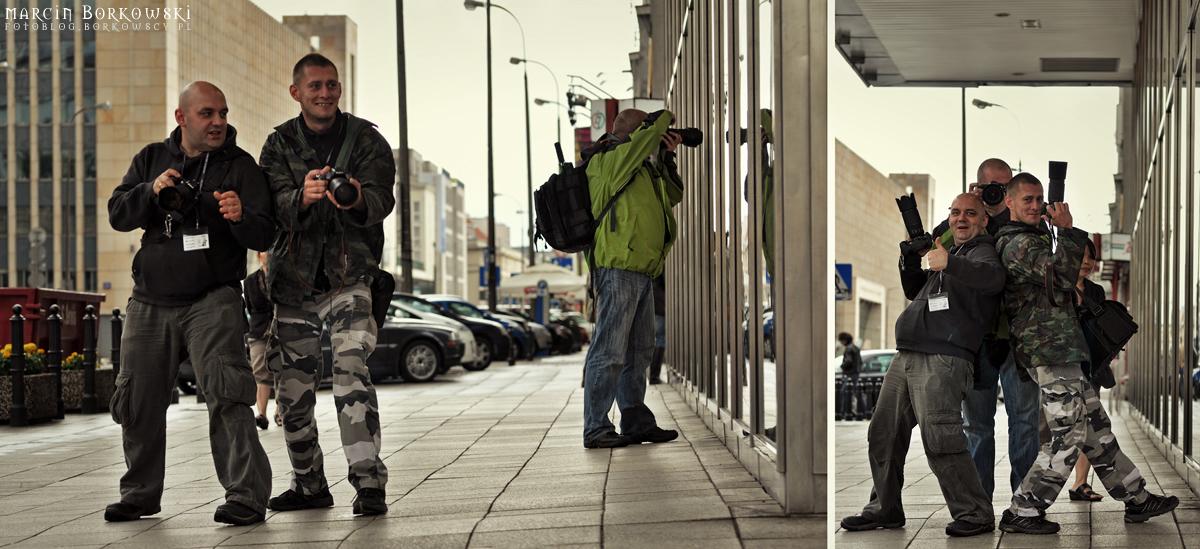 Backstage spaceru fotograficznego w Warszawie - 10
