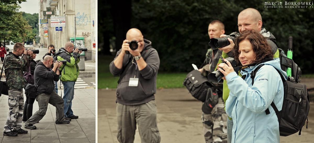 Backstage spaceru fotograficznego w Warszawie - 13