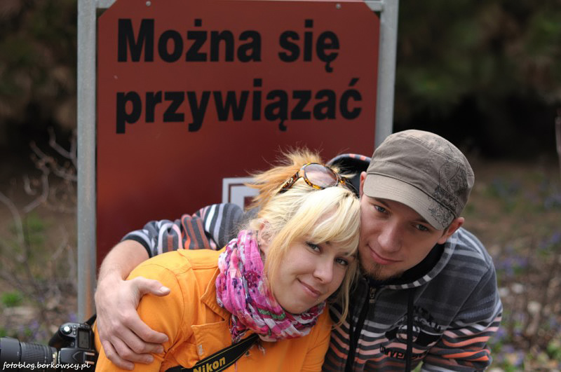 Iza i Tomek w Powsinie