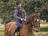 Koń Tornado - chłopiec na koniu