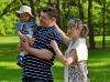 Zdjęcia rodzinne: Monika, Tosia, Tymek, Hubert