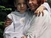 Sergiusz z mamą Kasią