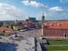 Panorama Placu Zamkowego i jego okolice w Warszawie