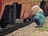 Pożegnanie lata na piaseczyńskiej kolejce wąskotorowej