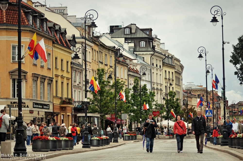 Krakowskie Przedmieście w Warszawie - 06