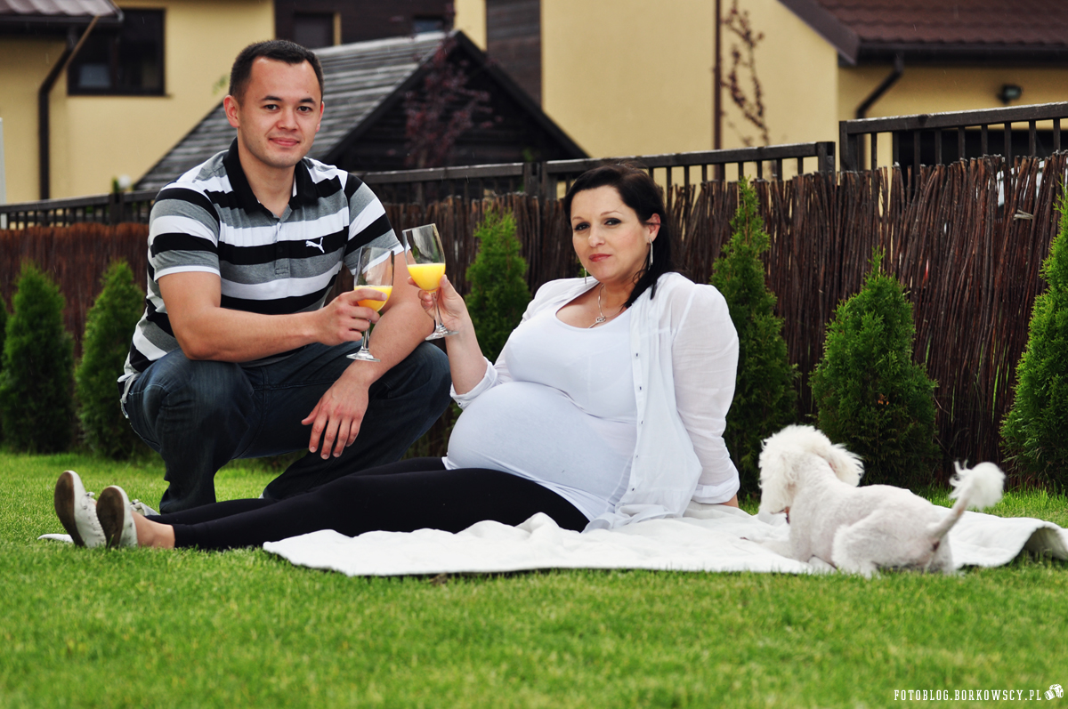 Sesja ciążowa Bożeny i Szymona 2013 - 5