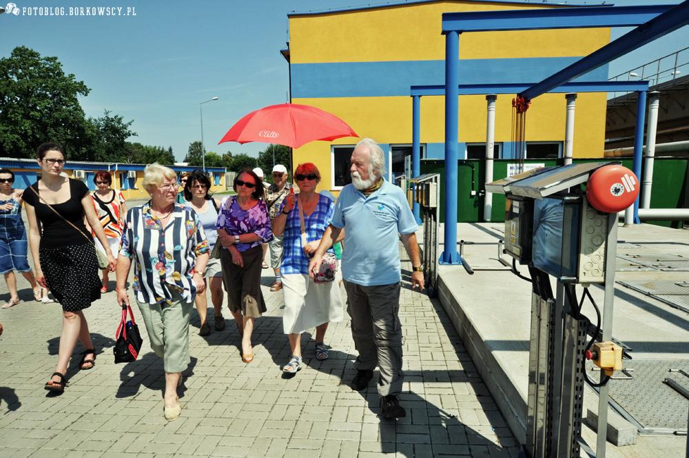 Spacer z przewodnikiem po PWiK Piaseczno 06