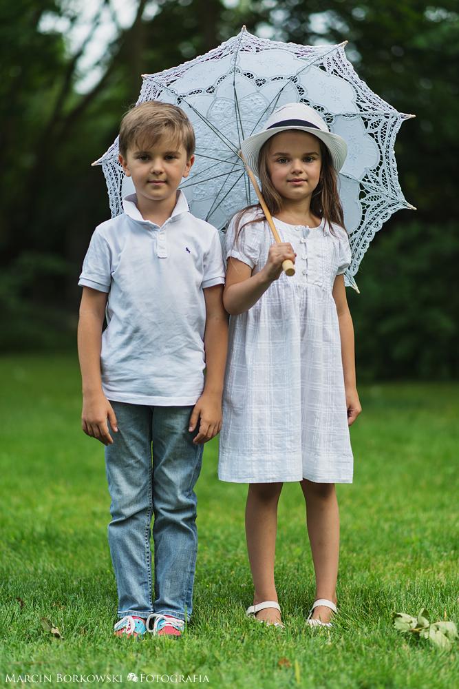 Sesja dziecięca Tosia Tymek i Weronika - 1