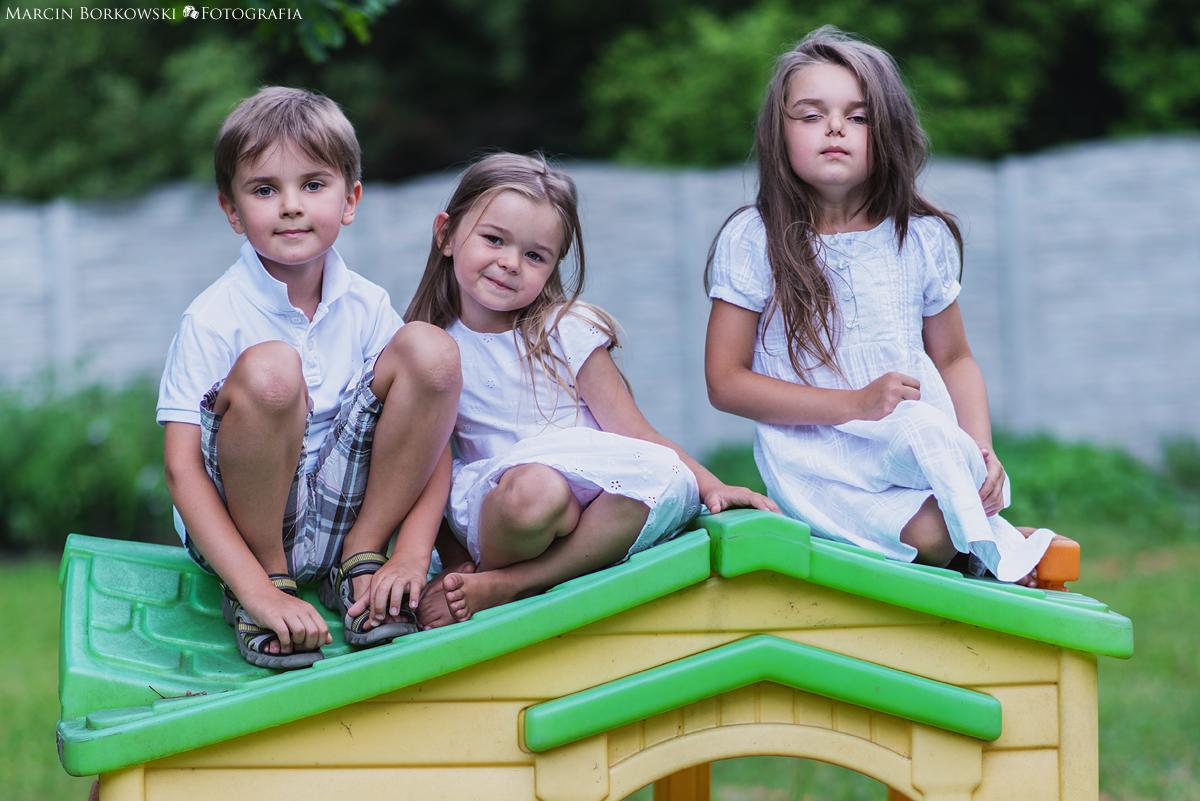 Sesja dziecięca Tosia Tymek i Weronika - 14