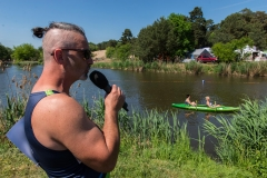Wodny Eliminator 4 pętle zawody kajakarskie w Zalesiu Dolnym - foto: Marcin Borkowski