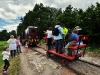 Wycieczka koleją wąskotorową w Dzień Dziecka 07