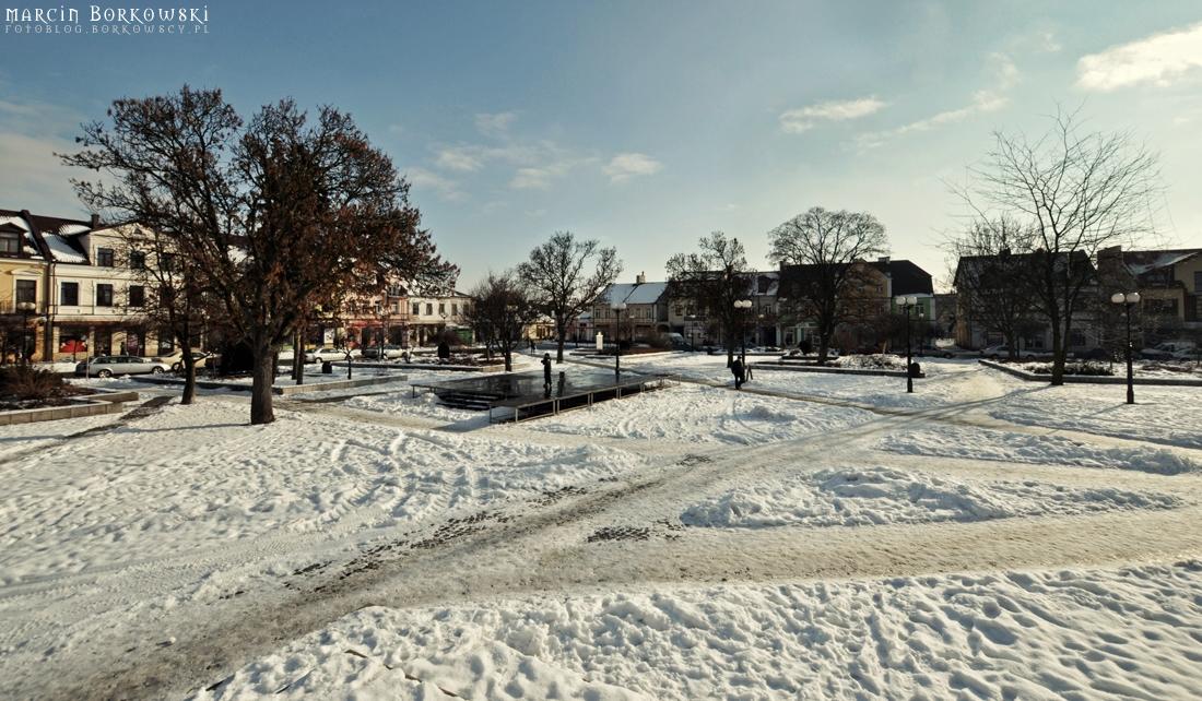 Plac Wolności - Zima w Białej Podlaskiej - 2