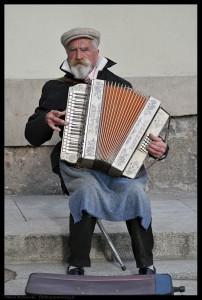 Akordeonista na Starówce