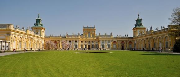 Pałac barokowy w Wilanowie