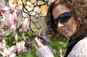 Sylwia przy Magnoliach