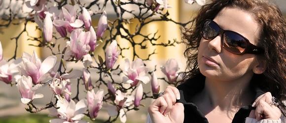 Wiosenne zdjęcia Sylwii w Wilanowie