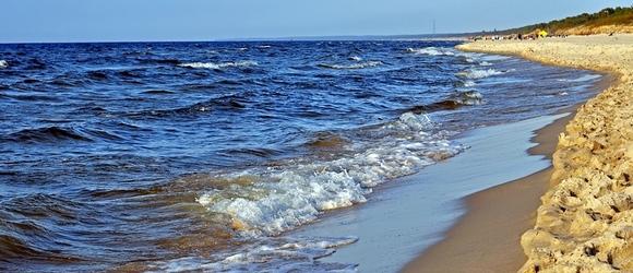 Krynica Morska – zdjęcia znad morza