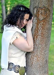 Sylwia w konstancińskim Parku