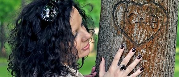 Zdjęcia Sylwii w konstancińskim Parku