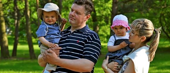 Zdjęcia rodzinne w Parku w Konstancinie