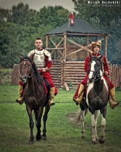 Polska Husaria na koniach