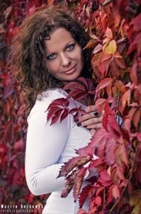 Sylwia w jesiennych kolorach