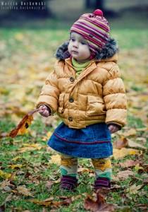Ania z liściem