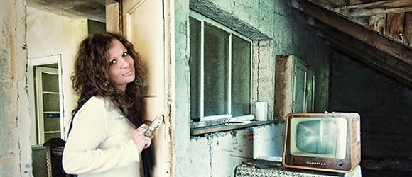 Sylwia w starym domu dziadków w Zalesiu