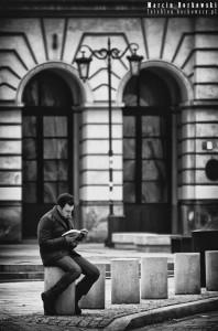 Uliczne czytanie książek