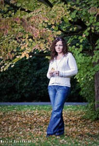 Sylwia w jesiennych barwach
