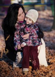 Natalia z mamą Dorotą