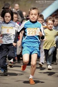Bieg dzieci w Parku Praskim