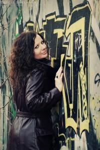 Przy graffiti