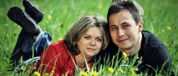 Zdjęcia Ani i Pawła w Zalesiu Dolnym