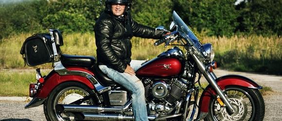 Zdjęcia Andrzeja na Yamaha Drag Star