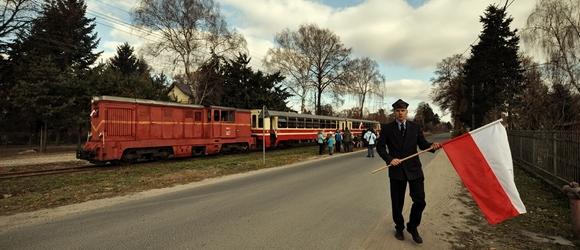 Marsz Niepodległości z Koleją Wąskotorową