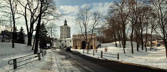Zimowe zdjęcia Białej Podlaskiej