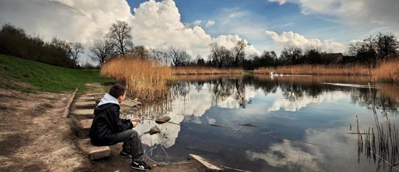 Wiosenny spacer po Parku w Piasecznie