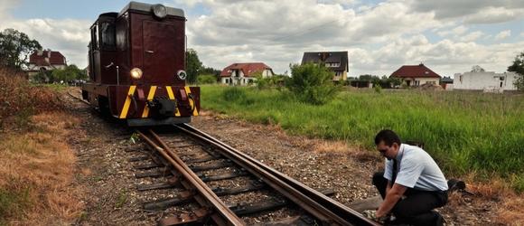 Wycieczka koleją wąskotorową w Dzień Dziecka