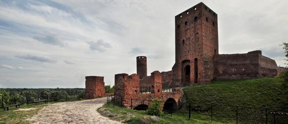 Zdjęcia z zamku książąt mazowieckich w Czersku