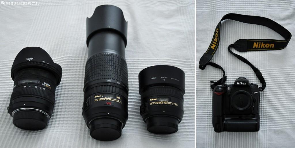 Sprzedam aparat Nikon D90 + obiektywy