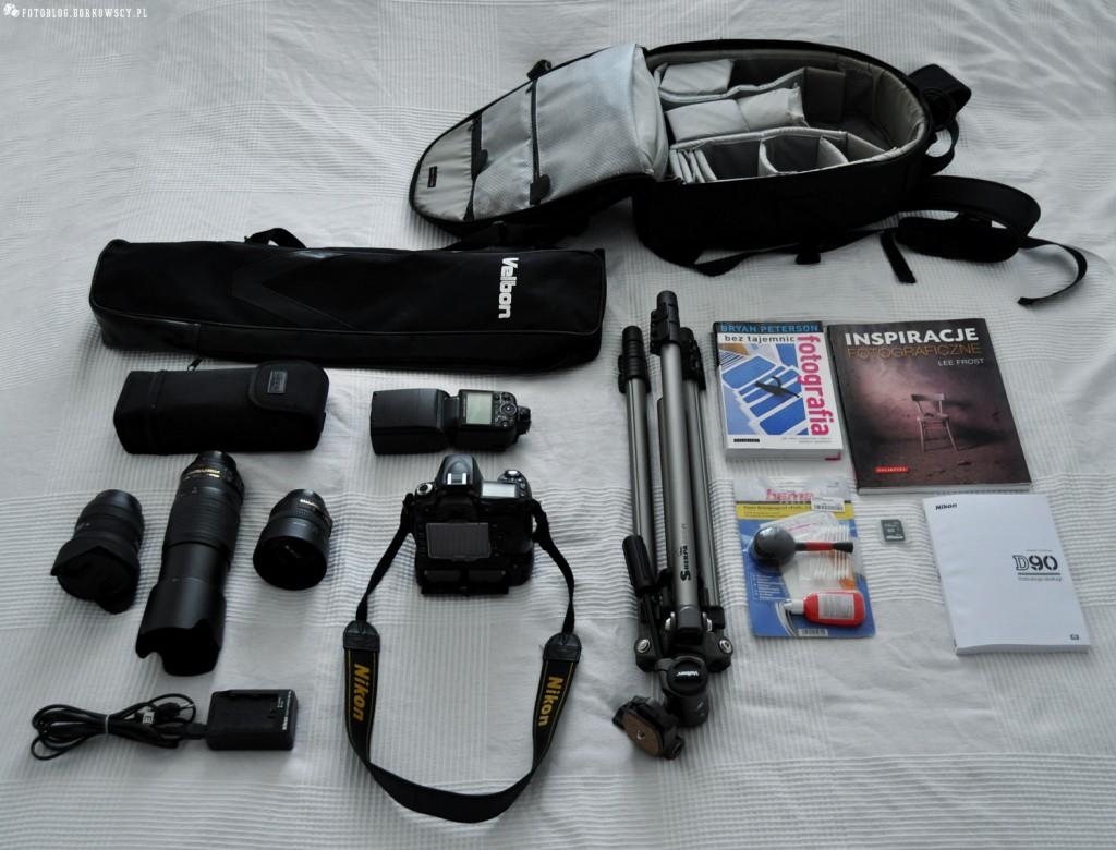 Sprzedam aparat Nikon D90 + akcesoria fotograficzne