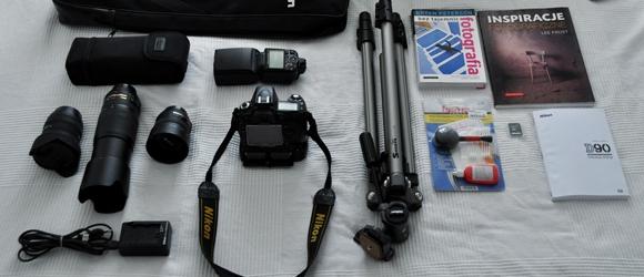 Sprzedam aparat Nikon D90 i akcesoria foto