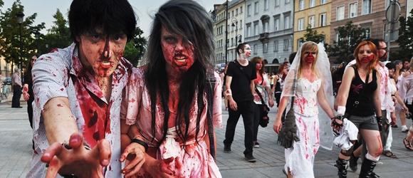 Parada Zombi Walk w Warszawie
