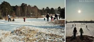 Zima na Górkach Szymona