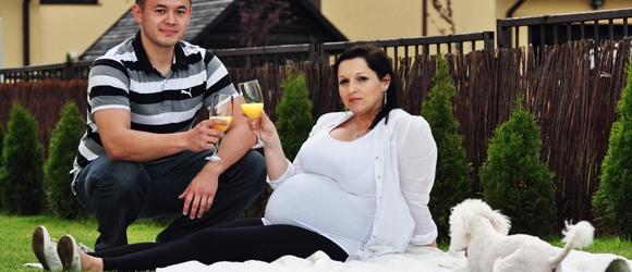 Sesja ciążowa Bożeny i Szymona
