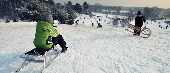Zimowy spacer po Górkach Szymona