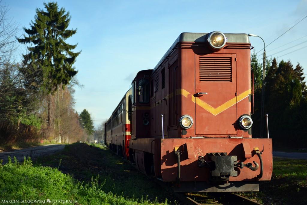 Piaseczyńska Kolej Wąskotorowa w Gołkowie