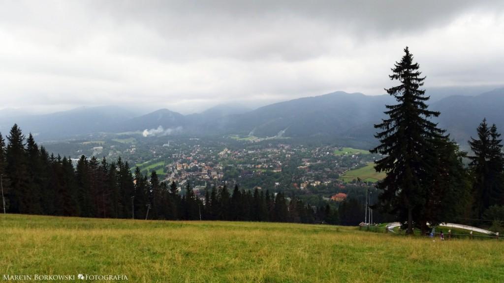 Gubałówka - widok na Zakopane